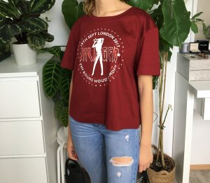 Gigi Hadid x Tommy Hilfiger Oversized shirt veelkleurig Gemengd weefsel