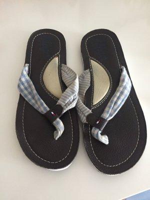 Tommy Hilfiger Flip flop sandalen donkerblauw-room