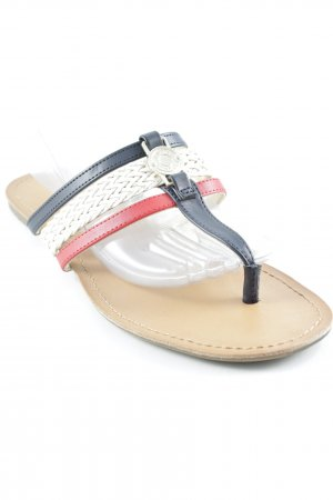 Tommy Hilfiger Toe-Post sandals multicolored casual look