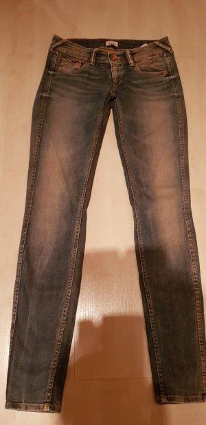Tommy Hilfiger Denim Skinny jeans rosé-blauw