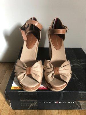 Tommy Hilfiger High Heel Sandal beige-brown