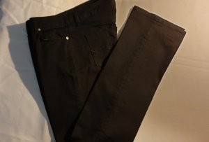 Tommy Hilfiger Low-Rise Trousers black cotton