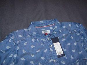 Tommy Hilfiger Denim Blouse en jean bleu coton