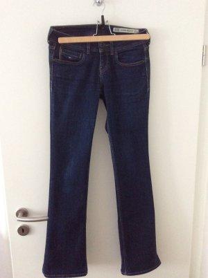 Tommy Hilfiger Jeans bootcut bleu coton