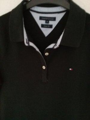 Tommy Hilfinger Polohemd  schwarz