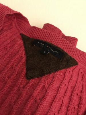 Tommy Hilfinger Pulli Pink Kashmir Baumwolle Edel