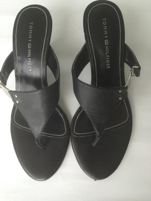 Tommy Hilfiger High-Heeled Sandals black