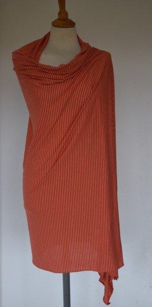 Tommy Hilfiger Châle au tricot orange-blanc