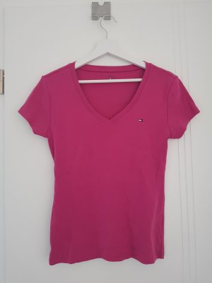 Tommy Hilfinger T-Shirt mit V-Ausschnitt