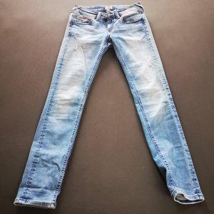 Hilfiger Denim Pantalone a sigaretta blu