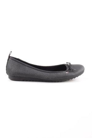 Tommy Jeans faltbare Ballerinas schwarz Casual-Look