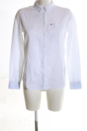 Tommy Jeans Hemd-Bluse weiß Business-Look