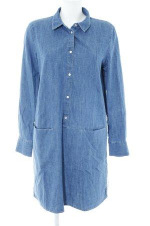 Tommy Jeans Shirtwaist dress cornflower blue casual look