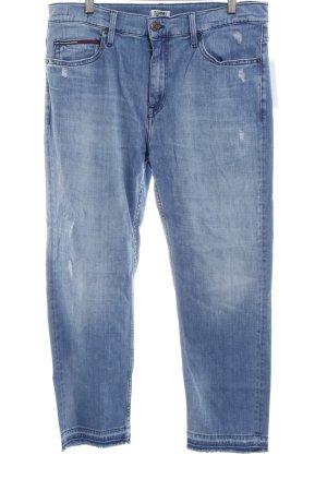 Tommy Jeans High Waist Jeans blassblau minimalistischer Stil