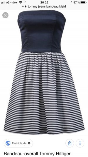 Tommy Jeans Bandeau Dress multicolored