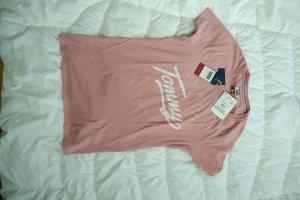 Tommy Jeans (Hilfiger) T-Shirt rosé Gr. S neu