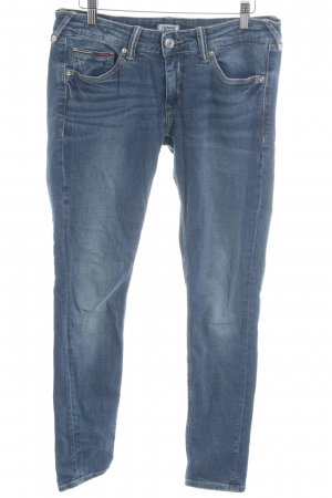 Tommy Jeans Vaquero hipster azul oscuro look Street-Style