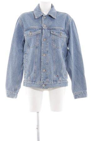Tommy Jeans Jeansjacke blau Casual-Look