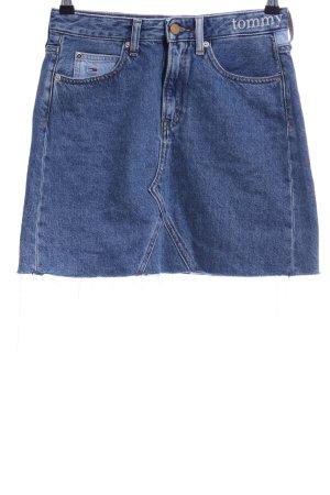 Tommy Jeans Jeansrock blau klassischer Stil