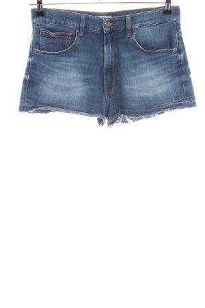 Tommy Jeans Short en jean bleu style décontracté