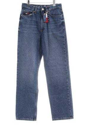 Tommy Jeans Wortel jeans blauw-lichtblauw Jaren 80 stijl