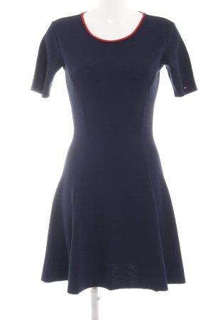 Tommy Jeans Kurzarmkleid blau-rot Elegant