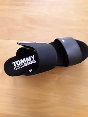 Tommy Jeans Heel Pantolettes black