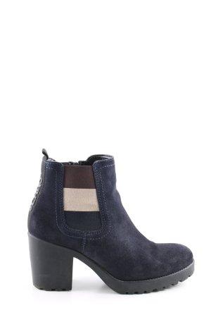 Tommy Jeans Reißverschluss-Stiefeletten Streifenmuster Casual-Look