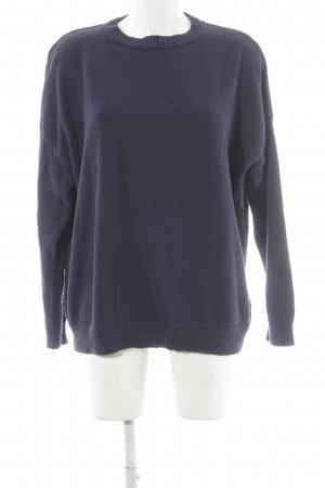 Tommy Jeans Rundhalspullover dunkelblau Casual-Look