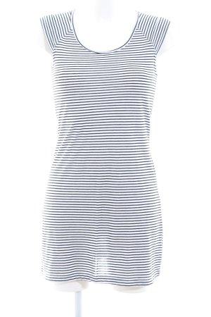 Tommy Jeans Shirtkleid weiß-schwarz Streifenmuster Casual-Look