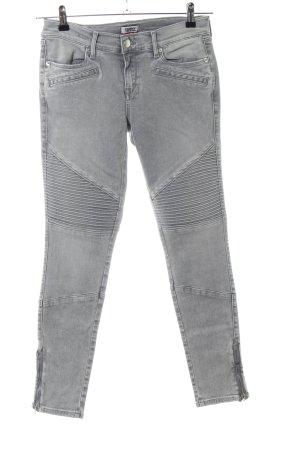 Tommy Jeans Skinny Jeans hellgrau Streifenmuster Casual-Look