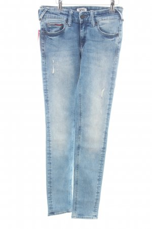 Tommy Jeans Skinny Jeans blau Casual-Look