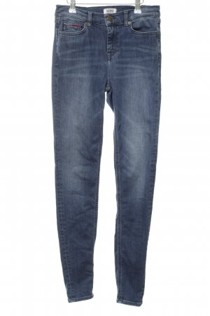 Tommy Jeans Skinny Jeans blau Casual-Look