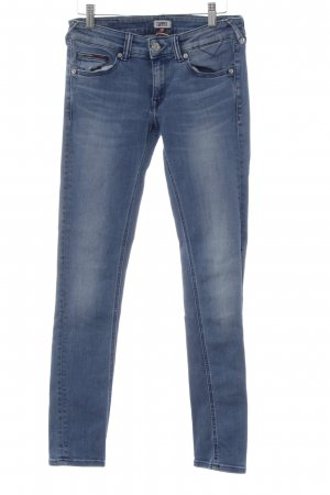 Tommy Jeans Skinny Jeans hellblau Washed-Optik