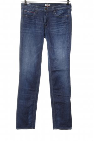 Tommy Jeans Straight-Leg Jeans blau Casual-Look