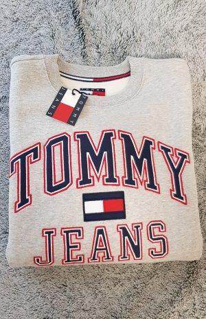 Tommy Jeans Sweatshirt S hellgrau