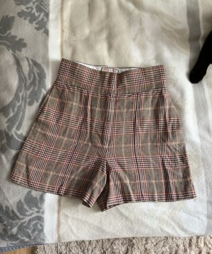 Tommy x Zendaya Cotton/Linen Checked Shorts 36