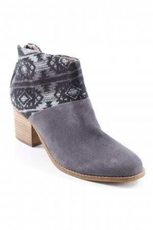 Toms Booties abstrakter Druck Casual-Look