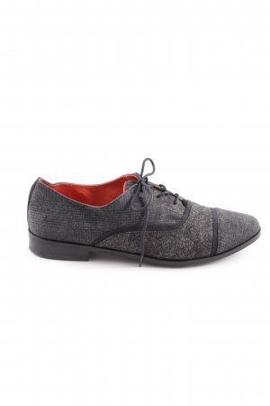 Toms Derby grey-anthracite abstract pattern business style