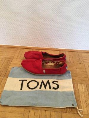 Toms Mocassins rouge