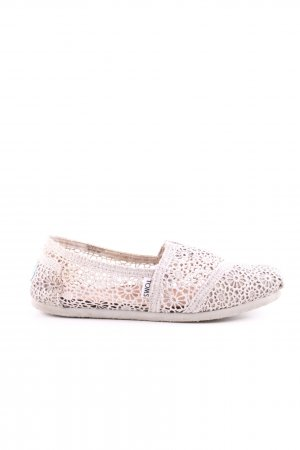 Toms Espadrille Sandals cream casual look