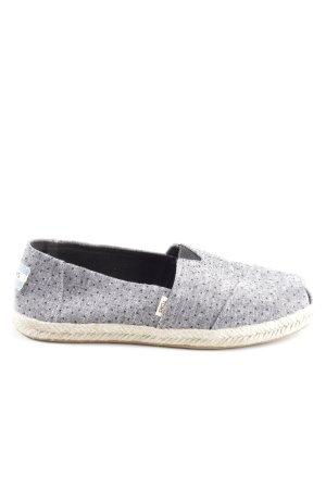 Toms Espadrille Sandals black-light grey flecked casual look