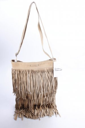 Toms Fringed Bag beige Gypsy style