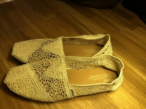 Toms Moccasins natural white
