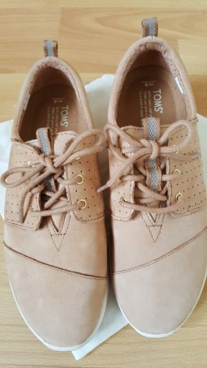 TOMS Leder-Sneakers, Größe 38,5, neu