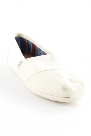 Toms Mokassins wollweiß Casual-Look