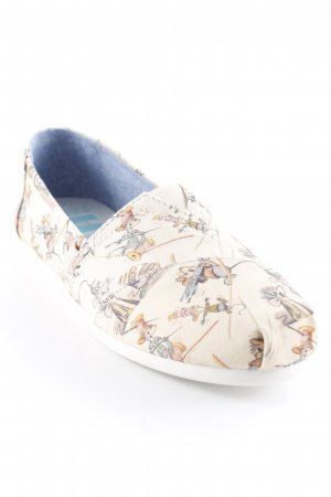 Toms Scarpa slip-on Stampa a tema stile casual