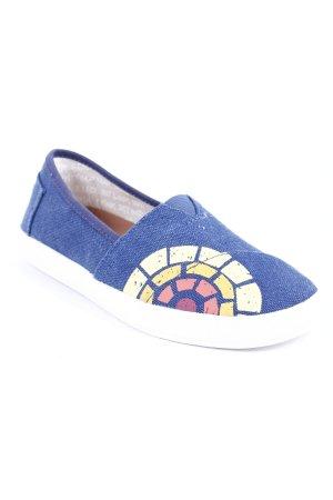 Toms Schlüpfsneaker abstrakter Druck Casual-Look