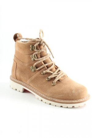 Toms Lace-up Boots camel casual look
