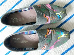 Toms Slipins tropic